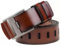 Variety Men Casual Brown Artificial Leather Belt